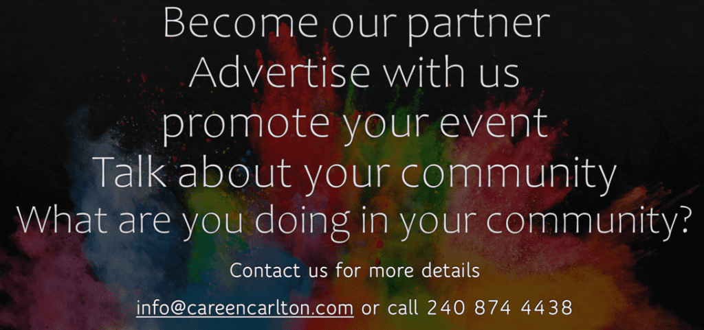Advertise with us email info@careencarlton.com