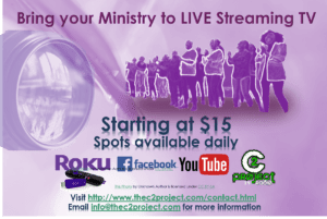 LIVE Stream your ministry today